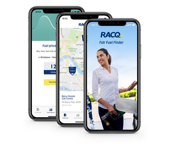 RACQ fair fuel app